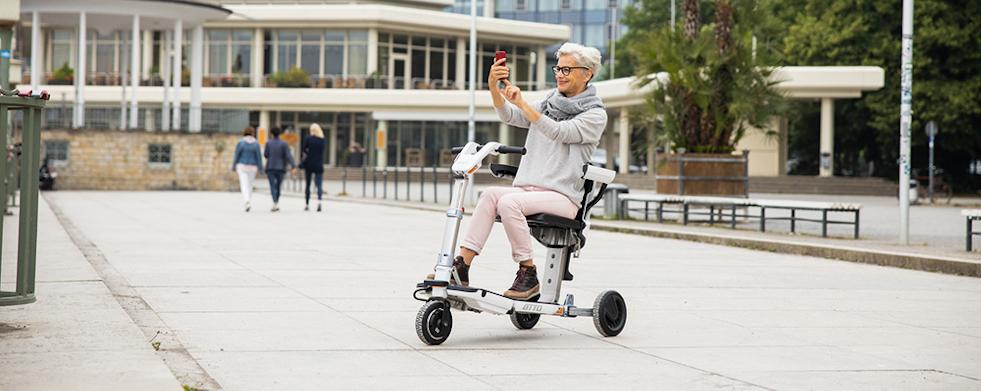 Mobilitätsroller ATTO Anwendung | RUSSKA