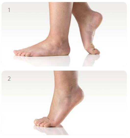 Passive Fußübungen