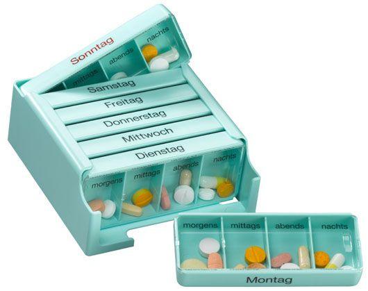 Medi-7 Medikamentenkassette mit 7 Tages-Dosen | Russka