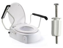 Toilettensitzerhöher mit Armlehnen | Russka