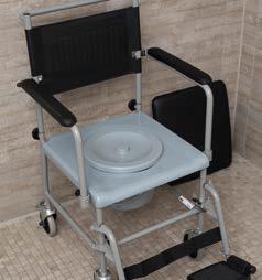 Toilettenstuhl, fahrbar | Russka
