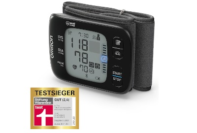 OMRON Blutdruckmessgeräte von Stiftung Warentest ausgezeichnet